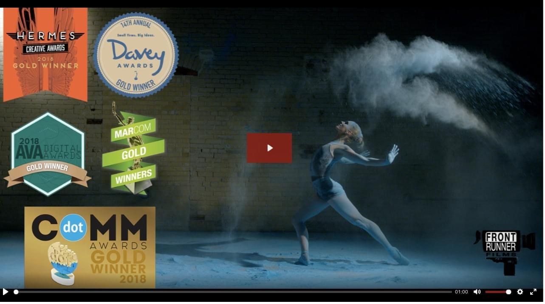 Corporate Video Company Showcases Awards